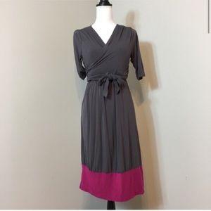 ace4b2fd6635c Latched Mama Dresses - Latched Mama Nursing Wrap Dress